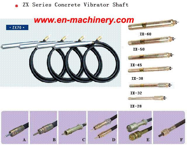 SPARE PARTS FOR POWER TOOLS SHAFT FOR CONCRETE VIBRATOR SHAFT BUTTERFLY