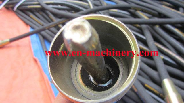 Manufacturer concrete vibrator shaft hose Pin Type Janpanese malaysian type