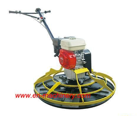 Walk-behind concrete power trowel honda gx160 5.5HP Concrete Finishing Trowel Machine of light construction machinery