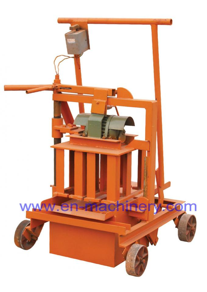 Concrete Brick Making Machine 2-45 Small High Quality Egg Laying Hollow Block Machine