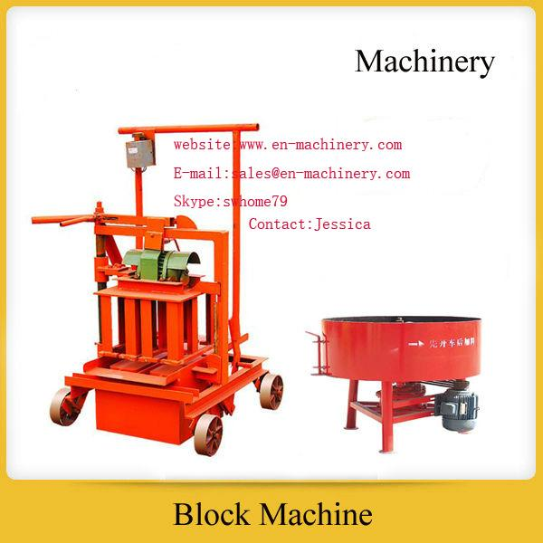 Brick Making Machine Manufacturer 2-45 Used Block Making Machine from China Factory
