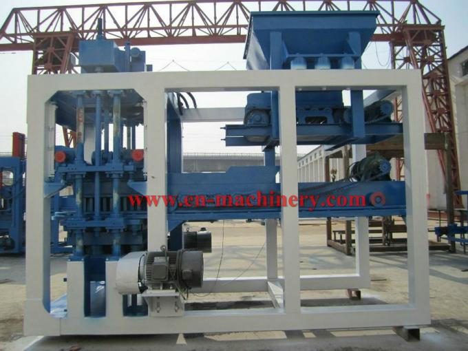 Direct Supply Top Performance Energy-Saving Semi Automatic 6-15 Block Making Machine