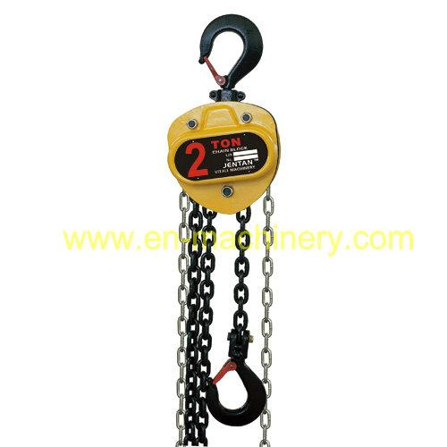 Chain hoist,chain block in vital yellow color with electric chain block hoist