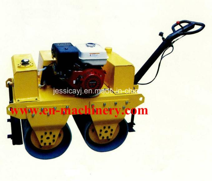 Walk Behind Double Drum Hydraulic Vibratory Road Roller of Construction Machinery