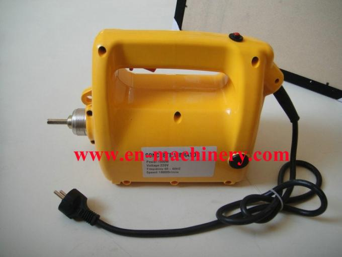 Foreign type concrete vibrator driven by electrical vibrator or engines