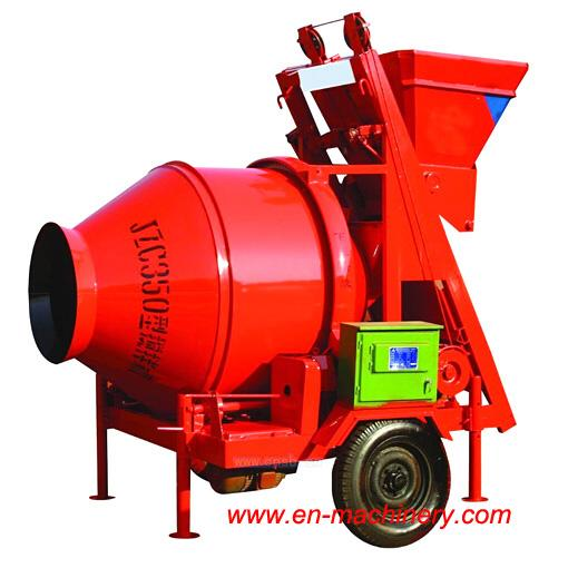 Concrete Mixing Plant Mobile with Electric or Diesel Engine in Stock