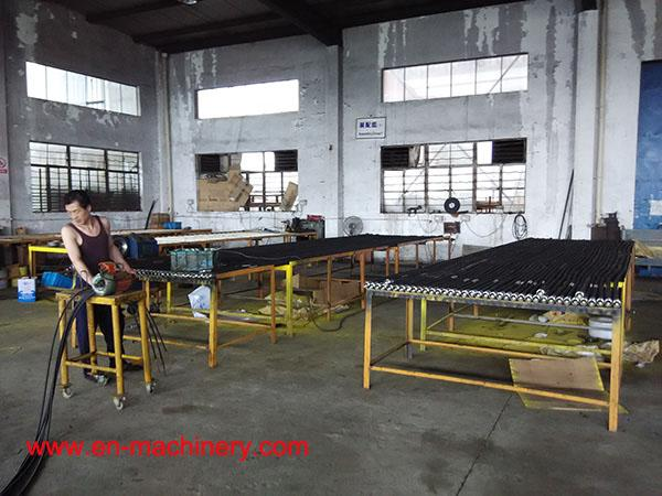 ZN SERIES CONCRETE VIBRATOR SHAFT/ WIRE-NETTED RUBBER HOSE with different types