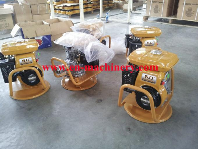 Construction machine air cooled engine power gasoline electric concrete vibrator