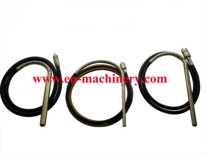 Rubber hose with steel-weaved for concrete vibrator with spring of Model ZN series