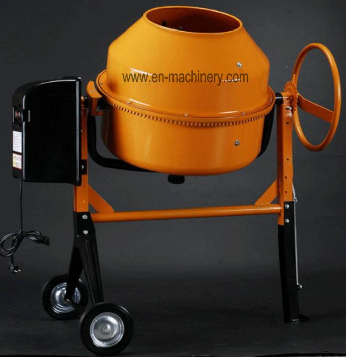 Construction Machinery Garden Mini Concrete Mixer with Electric Motor