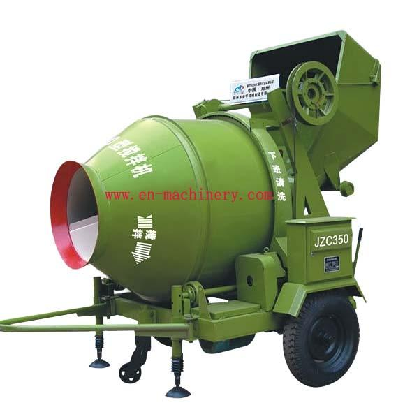 Concrete mixer with Hydraulic type diesel engine/electric motor in stock JZC350B JZC350A