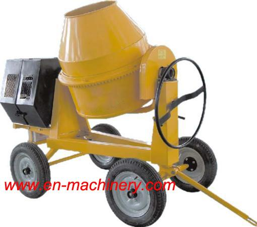 Electric One Phase Mini Concrete Mixer 280L Diesel Mini Concrete Mixer For Sale