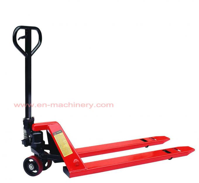 Hand Hydraulic Pallet Trucks with High Quality 2500kgs with Reasonable Price
