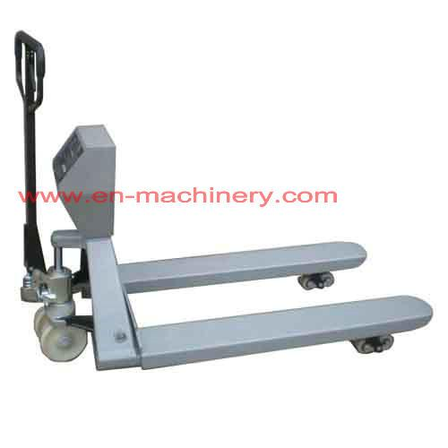 Hand Pallet Trucks with PU Wheels 3000kgs and hand Power Pallet Truck