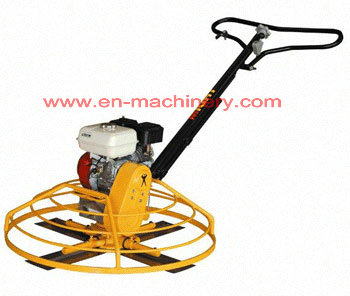 Concrete walk behind Folding Handle Power Trowel for Construction Machinery