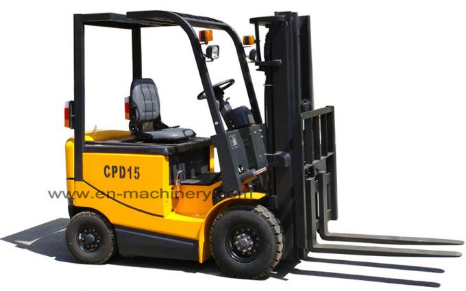 Electric Forklift Truck with Solid Tire 1T  with 4500mm max Lift Height
