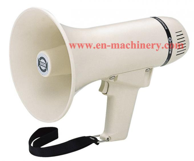 Megaphone with Siren or Fog Horn, Available Car Battery VoiceBooster Loud Portable horn