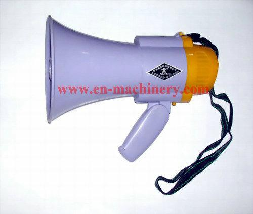 Horn of 10W Portable Plastic Football Speaker with Rubber Mobile Phone Silicone Megaphone