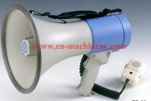 12V Megaphone with Microphone Horn Custom Logo Printed Promotional Silicone Megaphone