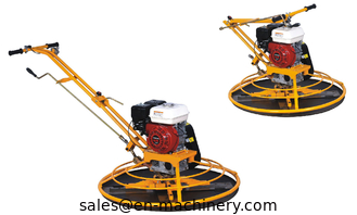 China Concrete walk behind Folding Handle Power Trowel for Construction Machinery supplier