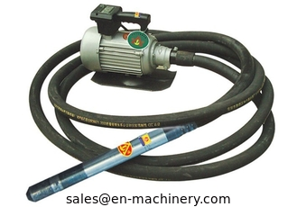 China Electric portable Concrete Vibrator with Flexible Shaft poker hose Construction machinery supplier