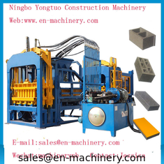 China Economical PLC Control System automatic 4-15 Cement Concrete Block Making Machine supplier