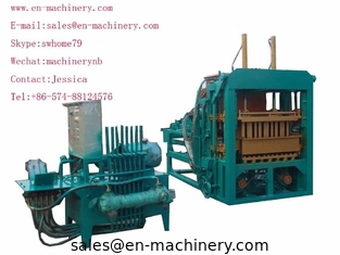 China China hollow cement block making machine 4-15 Semi Auto Brick Making Machine supplier