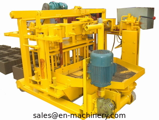 China Machine For Concrete Block 40-3 Movable Hollow Block Making Equipment From China supplier