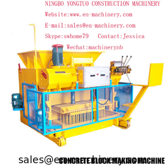 China Chinese Machinery Automatic Cement Concrete Block Making Machine 6-25  Moulding Machine supplier