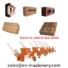 China Clay Block Machine 2-40 Moulds Manual Brick Making Machinery for sale Machine supplier
