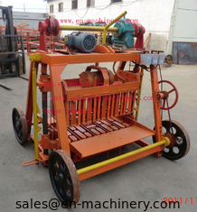 China Famous brand 4-45 Egglaying Cement Block Making Machine for hot sale in the world supplier