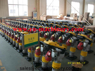 China Gasoline honda power earth sand soil wacker impact jumping jack multiply compactor tamper supplier