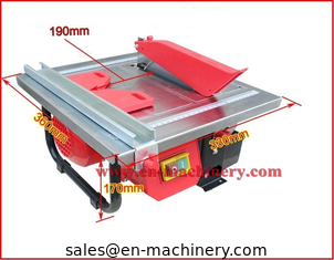 China 600W 180mm mini electric tile cutter/tile cutting machine for 45 degree,tile saw,stone saw, brick saw supplier
