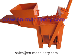 China Block Making Machine Manual Hand Soil Pressing Interlocking Clay 2-40 Machine supplier
