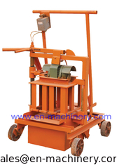 China Concrete Brick Making Machine 2-45 Small High Quality Egg Laying Hollow Block Machine supplier
