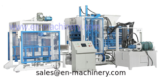 China Cement Block Making Machine Block Machinery Competitive Frequency 8-15 Block/Brick Machine supplier