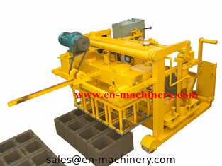 China Moving Block Making Machine Manual Concrete Block Moulding Machine 40-3 From China supplier