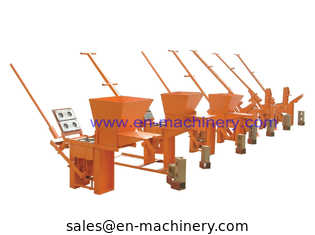 China Soil Block Making Machine Price South Africa 2-40 No Power Manual Operate supplier