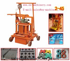 China Brick Making Machine Manufacturer 2-45 Used Block Making Machine from China Factory supplier