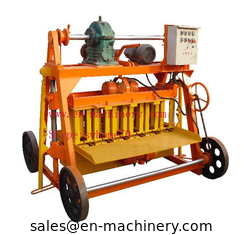China Clay hollow block making machine 4-45 Cheapest Hollow Cement Block Making Machine supplier