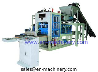 China Direct Supply Top Performance Energy-Saving Semi Automatic 6-15 Block Making Machine supplier