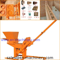China Manual Clay Cement Brick Making Machine and 1-40 Red Clay Brick Making Machine supplier