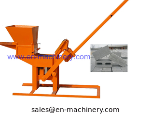 China Product To Import To South Africa 1-40 Manual Clay Interlocking Brick Making Machine supplier