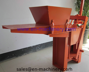 China Low Cost to Build House 2-40 Manual Clay Brick Pressing Machine Block Making Machine supplier