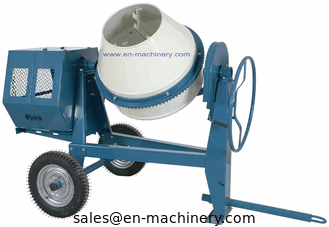 China Diesel Electric Motor/Gasoline Portable Mini Concrete Mixer with 260L Charging Capacity supplier