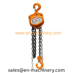 China Chain hoist,chain block in vital yellow color with electric chain block hoist supplier