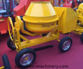 China High capacity 350L diesel engine powered concrete mixer 4 whees beton cement mixer supplier