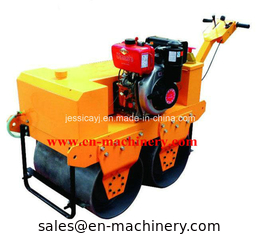 China Small Road Roller Multifunctional 600mm Exciting force 25kN Steel Structure Steel Building supplier