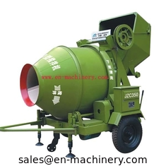 China Concrete mixer with Hydraulic type diesel engine/electric motor in stock JZC350B JZC350A supplier