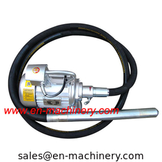 China Concrete Vibrator with 6M Flexible Shaft poker hose Construction machinery supplier